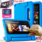 For Amazon Kindle Fire HD 7 2015 Kids Shock Proof EVA Handle Case Cover US STOCK