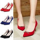 Women Patent Leather Pointed Toe Party Pumps High Heel Slim Stiletto Ankle Shoes
