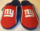 U Pick your Size New York Giants NFL House Slippers JERSEY SLIDE ON Forever Mens