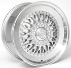 Alloy Wheels 18'' Drehen DH-X Silver Polished Rim For Peugeot 607 99-08