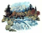 Bear River Pine Trees Fish Select-A-Size Waterslide Ceramic Decals Xx