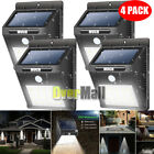 4 Pack - Solar Power Sensor Wall Light Security Motion Weatherproof Outdoor Lamp фото