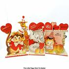 "Bethany Lowe Designs - ""WILD ABOUT YOU"" VALENTINE DUMMY BOARDS / STAND-UPS"