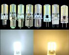 Dimmable E11/E14/E12/E17/BA15d/G4/G9/G8 110/220V 3W 64SMD LED Silicone WhiteWarm