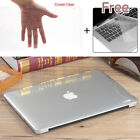 Clear Glossy Crystal Hard Case Keyboard Cover Fr Macbook Pro Air Retina 11 13 15