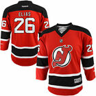 Reebok Patrick Elias New Jersey Devils Youth Red Replica Player Hockey Jersey