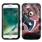 Houston Texans #Glove Rugged Impact Armor Case for iPhone 5s/SE/6/6s/7/Plus
