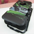 Seattle Seahawks #Glove Rugged Impact Armor Case for iPhone 5s/SE/6/6s/7/Plus
