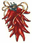 Chili Pepper Bunch Select-A-Size Waterslide Ceramic Decals Tx  image