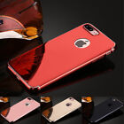 360 Degree Full Protection PC Plating Bling Mirror Cover Case For Iphone7 7 Plus