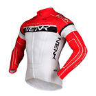 Sobike-NENK COOREE Red White Cycling Long Jersey long Sleeves