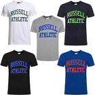 Russell Athletic Print Short Sleeves Crew Neck Mens T-Shirt FW16PON001 WH