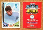 TOPPS Match Attax World Cup 2010 football card - Various A to D