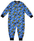 Boy's BATMAN Romper Sleepsuit Pyjamas 5 to 10 Years CLEARANCE SALE