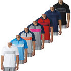 Adidas Golf 2017 Mens 3-Stripes Competition Polo Shirt Climacool Ventilation