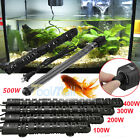 100-500W Aquarium Heater Anti-Explosion Submersible Fish Tank Water Adjustable U