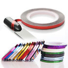 1 Roll Laser Nail Striping Tape Line 3mm Adhesive Decal Manicure Styling Tips