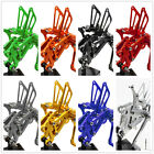 FXCNC Front Rearsets Footrest For Yamaha YZF R125 2008 2009 2010 2011 2012 2013