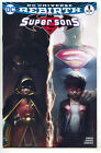Super Sons 1 DC Rebirth NM Francesco Mattina Variant Superman Batman Color