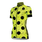 DIVINE SPRAY DOTS SUMMER CYCLING JERSEY BY SHEBEEST