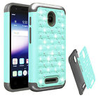Phone Case For Alcatel Pixi Avion / Pixi Bond A573VC Cover Dual-Layered Crystal