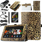 Folio Stand PU Leather Protect Case Filp Cover For Amazon Kindle Fire HDX 7 2013