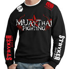Crewneck Sweatshirt Top MMA UFC Muay Thai Fight Tigers With FREE Tapout Sticker