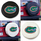 Florida Gators Exact Fit Size Black or White Vinyl Spare Tire Cover