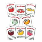 8 Varieties Heirloom Non-GMO USDA Organic Tomato Garden Seeds Kit
