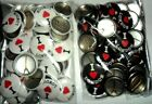 WHOLESALE JOB LOT x 50  :  I LOVE LONDON BUTTON BADGES,