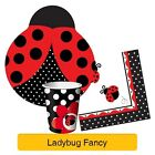 LADYBUG FANCY Birthday Party Range - Girl (1st) Tableware Balloons & Decorations