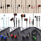 3.5mm In-Ear With Microphone Bass Stereo Earphones Headphone
