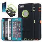 "Protective Hybrid Shockproof Hard Case Cover For  iPhone 6 6S 4.7/5.5"" Plus/ 5E"