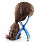 Wig Display Stand Mannequin Head Dummy Wig Cap Hair Holder Foldable Stable Tool