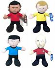 Official Star Trek Soft Plush Cuddly Toys 14 inch Kirk, Spock, Scotty on eBay
