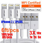 Original Lot AICase MFI Certified Lightning USB Cable Fr iPhone 7 6 6S Plus 5 se