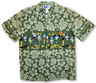 Martini Chest Band Men's RJC aloha Shirt made in Hawaii
