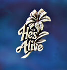 He's Alive Pin | Easter Jewelry | Christian Jewelry Handcrafted Fine Pewter