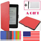 Leather Smart Case Cover For Amazon Kindle Paperwhite 2016 Sleep/Wake +Free Gift