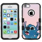 Disney Lilo & Stitch #W Hybrid Hard Armor Case for iPhone 5s/SE/6/6s/7/Plus