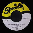 LITTLE RICHARD: She Knows How To Rock / Early One Morning 45 (re) Blues & R&B