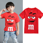 Personalised Cartoon Boy Kids Tee T-Shirt T Shirt Top Casual Summer Age 2-7Y