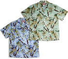 Apple Blossoms Bamboo Men's vintage RJC aloha Shirt  made in Hawaii - 102C-346
