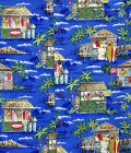 Tiki Bar Surf Shop Men's vintage RJC aloha Shirt   made in Hawaii