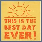 This Is The Best Day Ever Funny T Shirt Sun Smiley Face Awesome Retro Tee Shirt