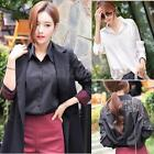 Korean Spring Women Long Sleeve Lace Hollow Summer Shirt Loose Blouse Casual Top