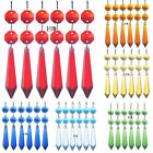 10pcs Chandelier Glass Crystals Lamp Prisms Parts Pointed Bead Hanging Pendant