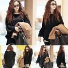Women Winter Long Sleeve Knitted Jumper Sweater Tops Pullover Blouse Casual