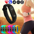 Waterproof Smart Heart Rate Bracelet Watch Bluetooth Fitness Activity Tracker UK