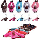 Cute Kipling Monkey Keyring Charm Pendant Key Ring Purse Bag Keychain Gift